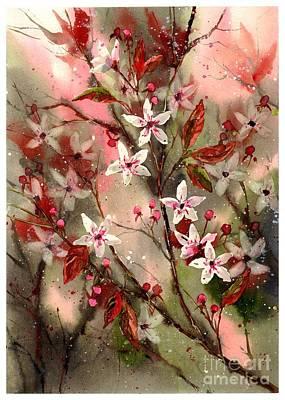 Watercolour Garden Art