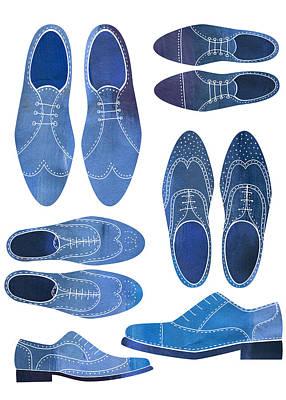 Men Shoes Prints