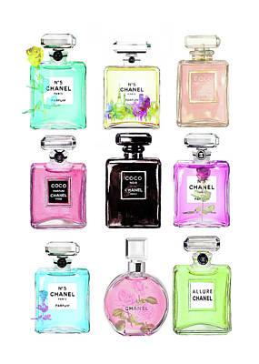 Designs Similar to Chanel Perfume Set 9er