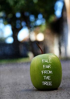 Apple Trees Mixed Media Prints