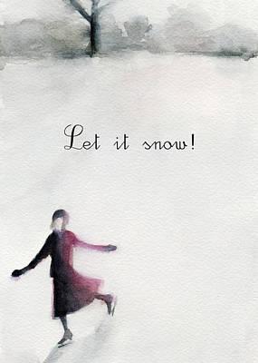 Ice Skating Art Prints