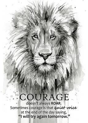 Lion Art Posters