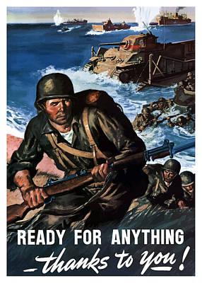 World War Ii Mixed Media