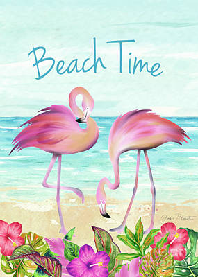Designs Similar to Summertime Flamingos 2