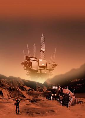 Designs Similar to Mining On Mars, Artwork