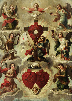 Designs Similar to Allegory Of The Holy Eucharist