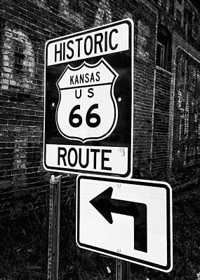Designs Similar to Kansas Route 66