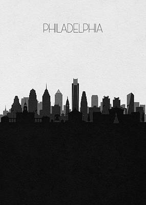 Designs Similar to Philadelphia Cityscape Art V2