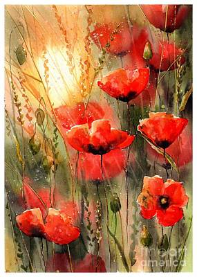 Designs Similar to Real Red Poppies