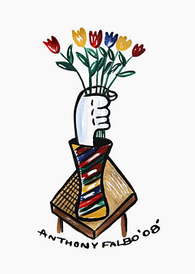 Designs Similar to Tulips In Hand by Anthony Falbo