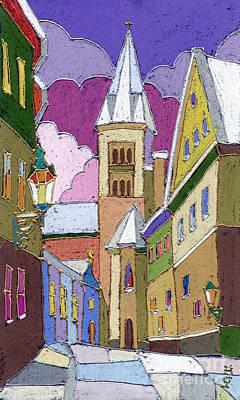 Designs Similar to Prague Old Street Jilska Winter