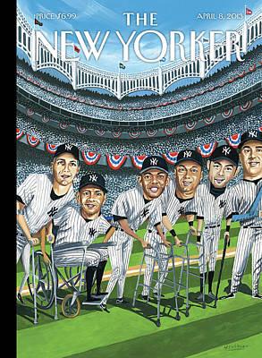Yankee Stadium Paintings