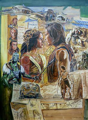 Edgar Rice Burroughs Paintings