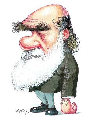 Designs Similar to Charles Darwin by Gary Brown