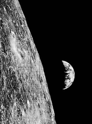 Designs Similar to Earthrise From Lunar Orbiter 1