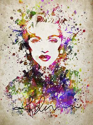 Madonna Digital Art