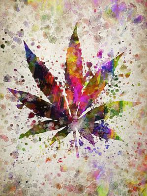 Designs Similar to Marijuana Leaf In Color