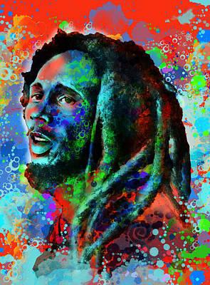 Bob Marley Abstract Paintings