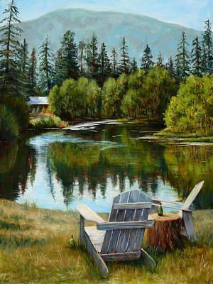 Adirondack Mountains Paintings