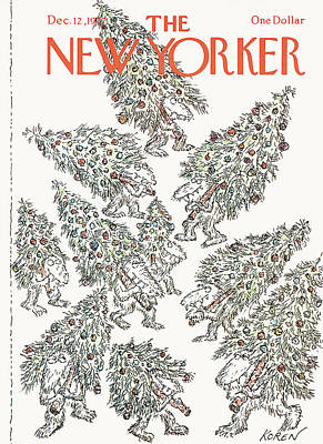 Designs Similar to New Yorker December 12th, 1977