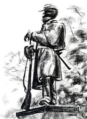 Shawl Drawings Original Artwork