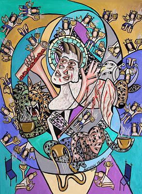 Bible Digital Art Original Artwork