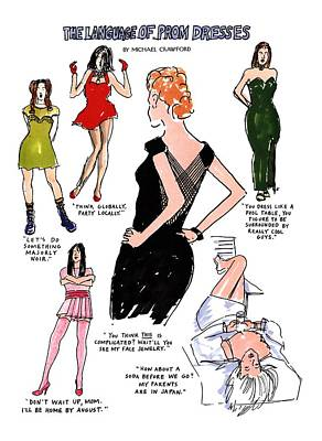 Strapless Dress Drawings