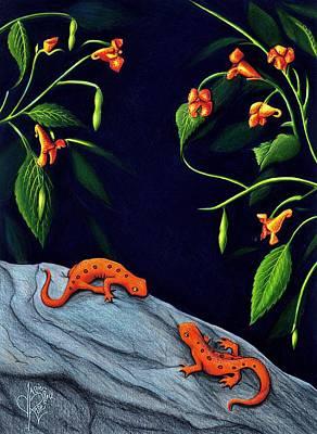 Newts Original Artwork