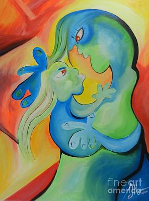Missing Child Mixed Media Original Artwork