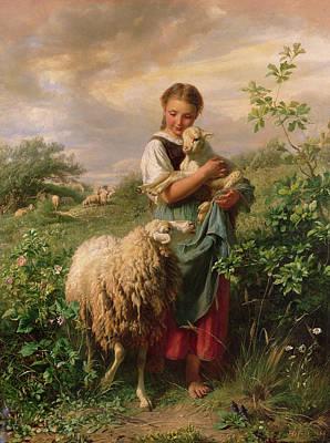 Designs Similar to The Shepherdess