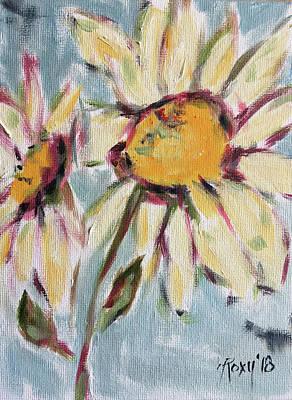 Daisy Paintings Original Artwork