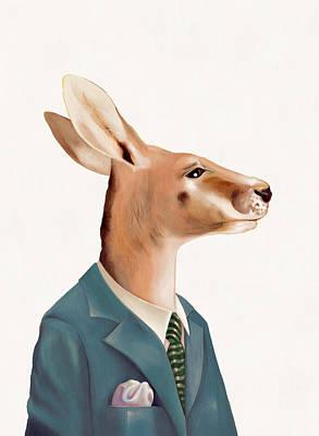 Kangaroo Art Prints