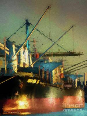 Loading Dock Digital Art