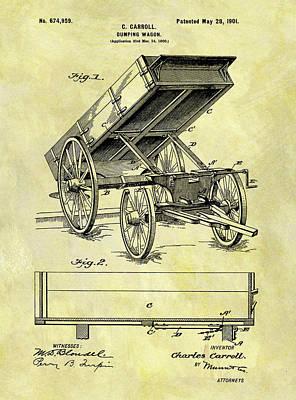Designs Similar to Vintage Dumping Wagon Patent