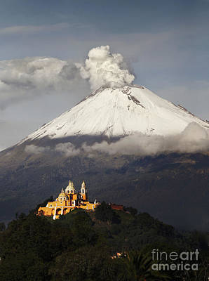 Designs Similar to Snowy Volcano And Church