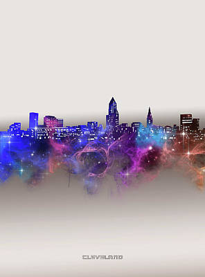 Designs Similar to Cleveland Skyline Galaxy