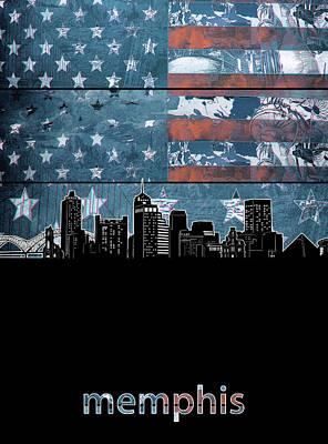 Designs Similar to Memphis Skyline Usa Flag 3