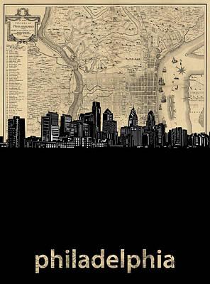 Designs Similar to Philadelphia Skyline Map