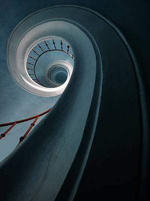 Designs Similar to Pretty Blue Spiral Staircase