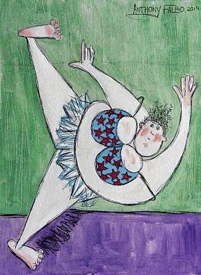 Designs Similar to Retired Ballerina Stretching