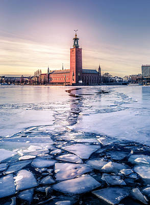 Designs Similar to Stockholm City Hall In Winter