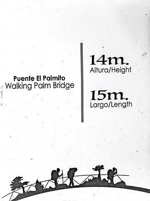 Designs Similar to Walking Palm Bridge Sign