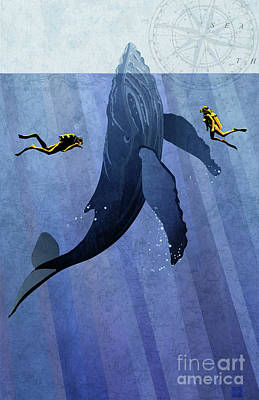 Diver Paintings