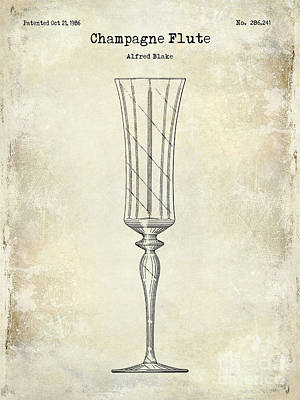 Designs Similar to Champagne Flute Patent Drawing