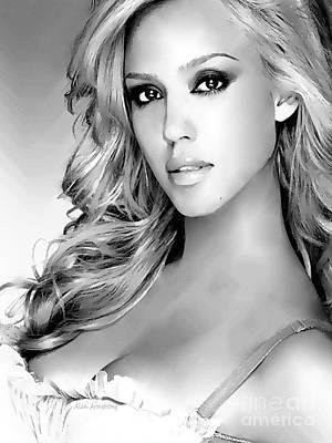 Jessica Alba Digital Art