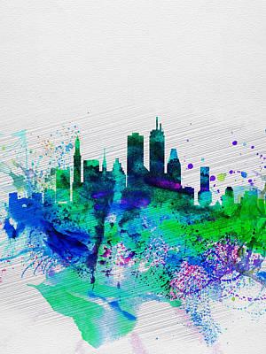 Boston Skyline Art Prints