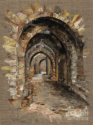 Tunnels Paintings Prints