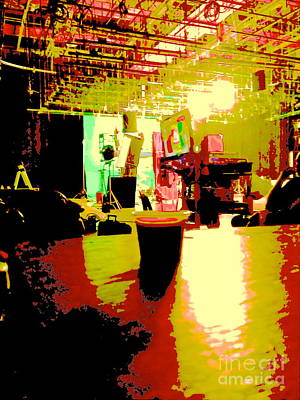 Behind The Scenes Digital Art Original Artwork