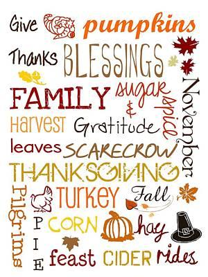 Thanksgiving Digital Art