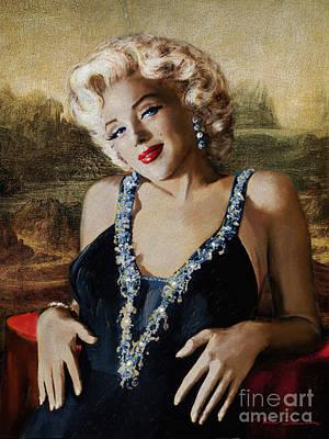 Designs Similar to Marilyn 126 Mona Lisa